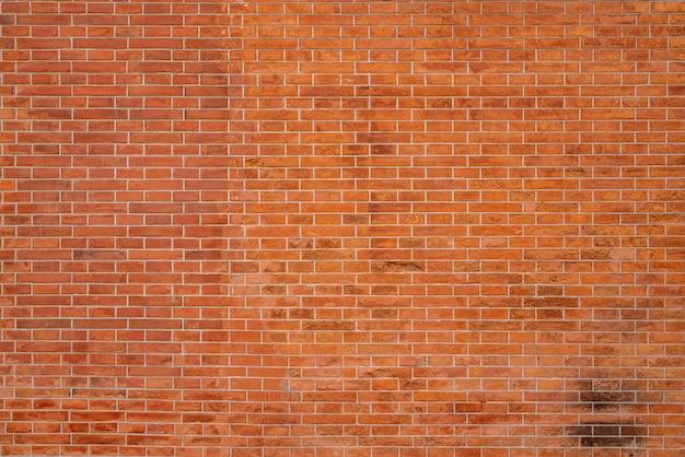 Roodbruine blokbakstenen muur prachtig gerangschikte textuurachtergrond.