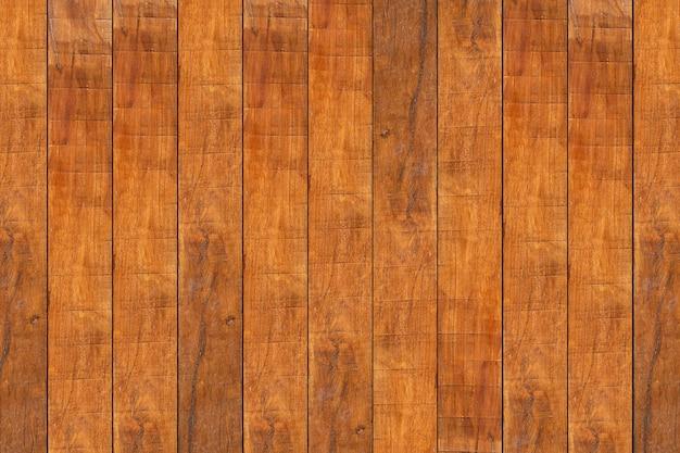 Roodbruine houten muur voor achtergrond en textuurbeelden