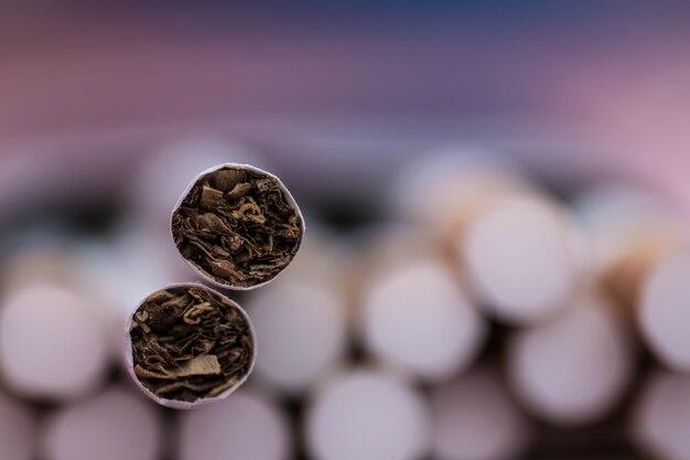 Rook nooit een sigaret