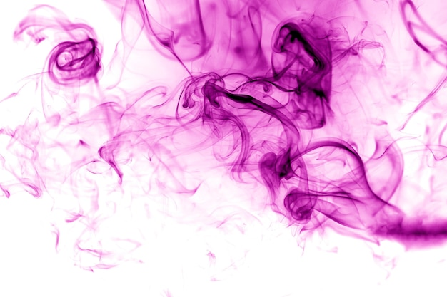 Rook paarse achtergrond