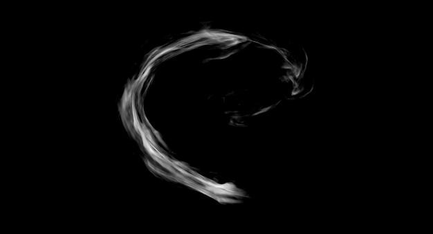 Rook trail game fx ontwerp weergave op zwarte achtergrond