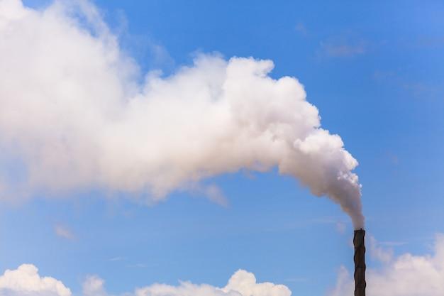 Rook van de fabriek