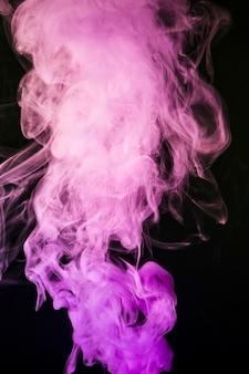 Rookdampen voor creatieve moderne achtergrond