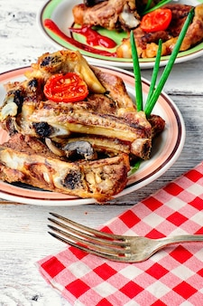 Rooster het kalfsvlees