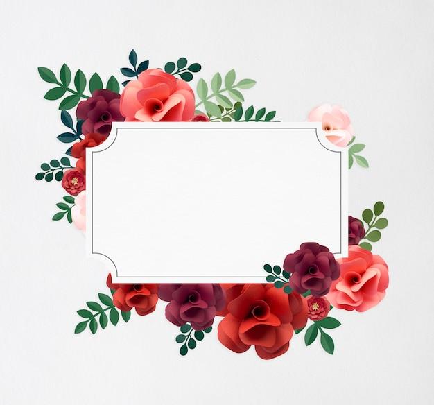 Rose pattern floral texture concept