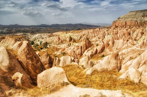 Rose valley goreme cappadocia turkije in de zomer
