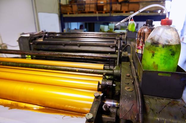 Rotatieprinter voor printers in de printer
