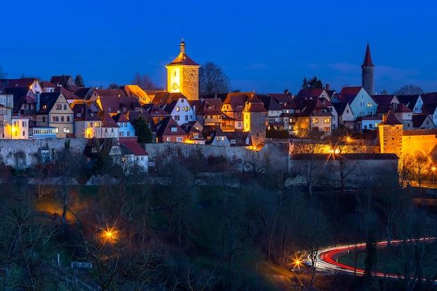 Rothenburg ob der tauber, duitsland