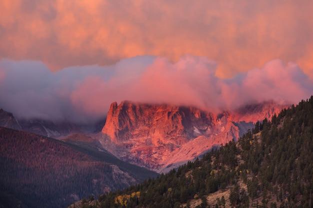 Rotsachtige bergen in colorado