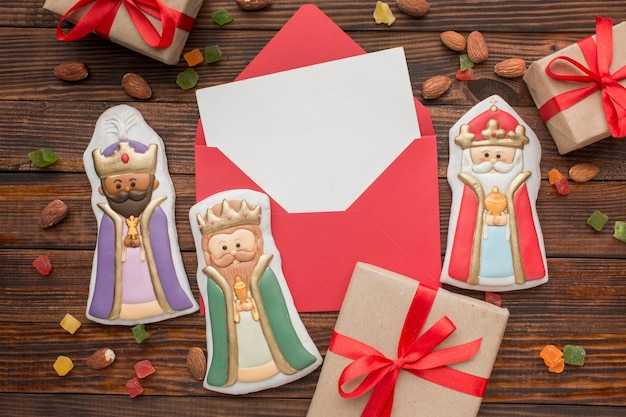 Royalty koekje eetbare beeldjes