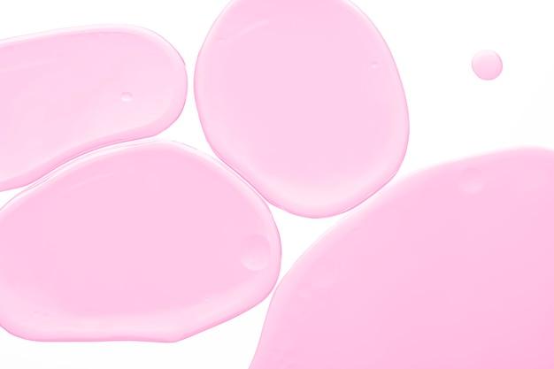Roze abstracte achtergrond oliebel textuur behang