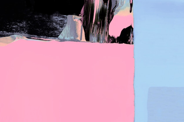 Roze achtergrondbehang, abstracte verftextuur met gemengde kleuren