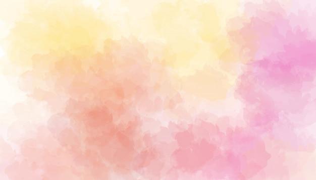 Roze aquarel achtergrond. digitale tekening.