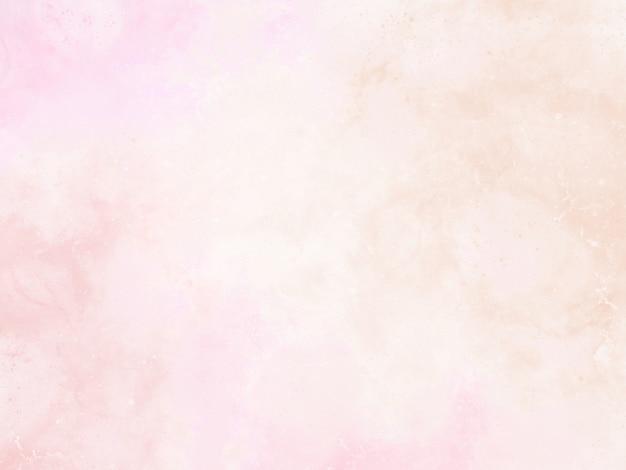 Roze aquarel achtergrond schilderij met abstracte rand en uitloop verf druppels en druppels