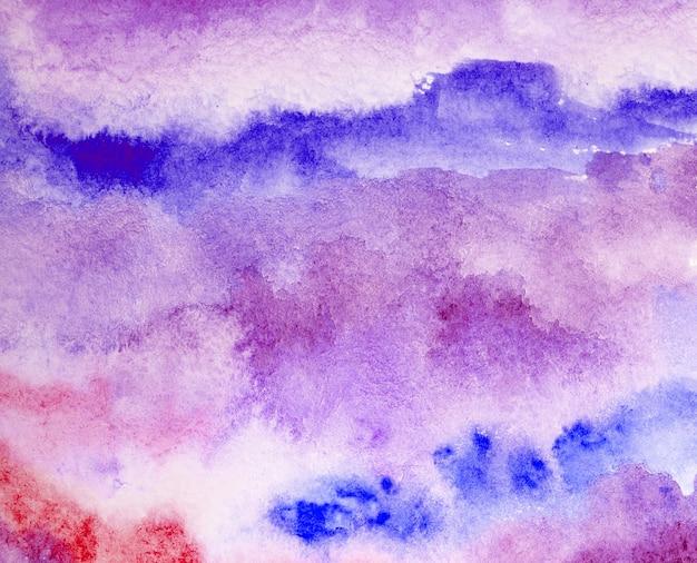 Roze aquarel splash lijn achtergrond