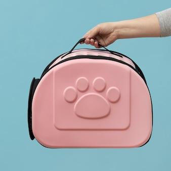Roze arrangement voor huisdierentassen