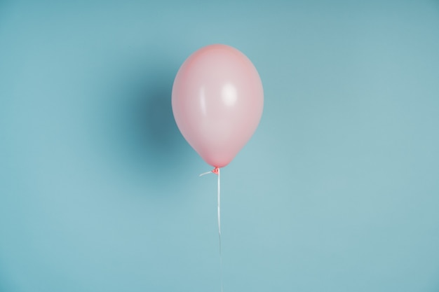 Roze ballon