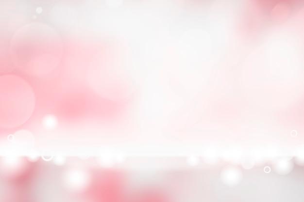 Roze bokeh getextureerde effen productachtergrond