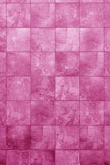 Roze bouwmuur. interieur van een moderne loft. achtergrond voor ontwerp
