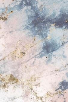 Roze en blauw geweven marmer