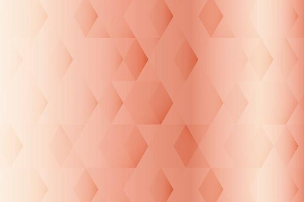 Roze geometrische patroonachtergrond