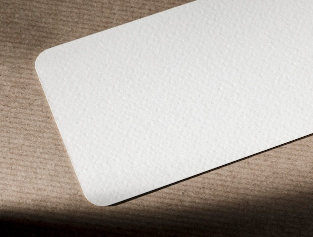 Roze geweven materiaal branding concept