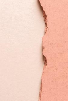 Roze gipspaneel met exemplaarruimte