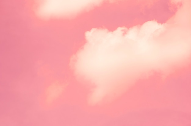 Roze hemel met vage patroonachtergrond