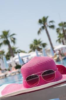 Roze hoed