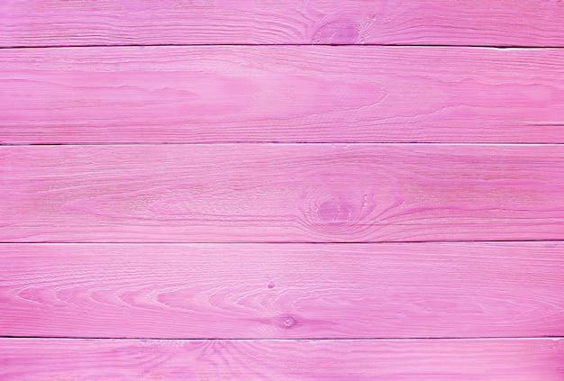Roze houten planken voor achtergrond, textuur natuurlijk hout