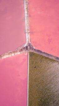 Roze lagune