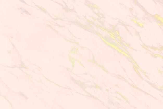 Roze met gele krassen marmeren oppervlak
