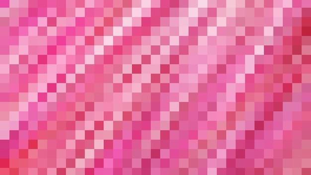 Roze mozaïek abstracte textuur achtergrond, patroon achtergrond van gradiënt behang