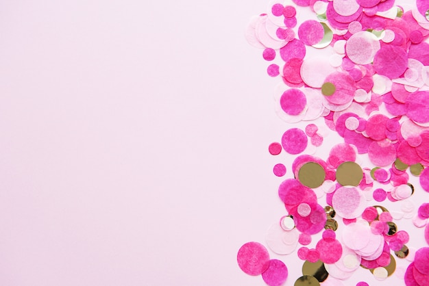 Roze pastel feestelijke achtergrond