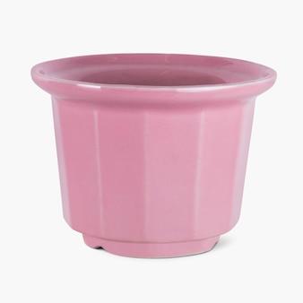 Roze plantenpot voor woondecoratie