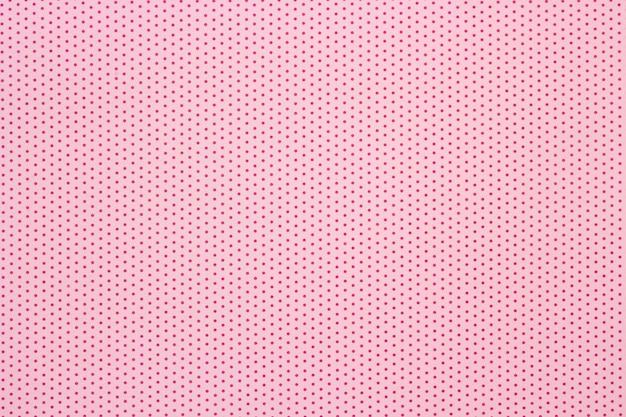 Roze polka dots patroon achtergrond, bovenaanzicht