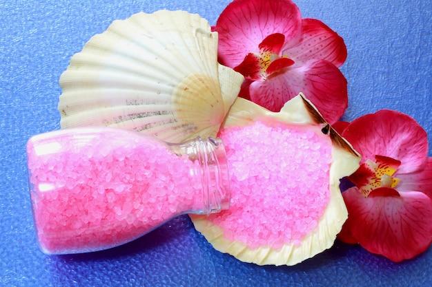 Roze spa-object