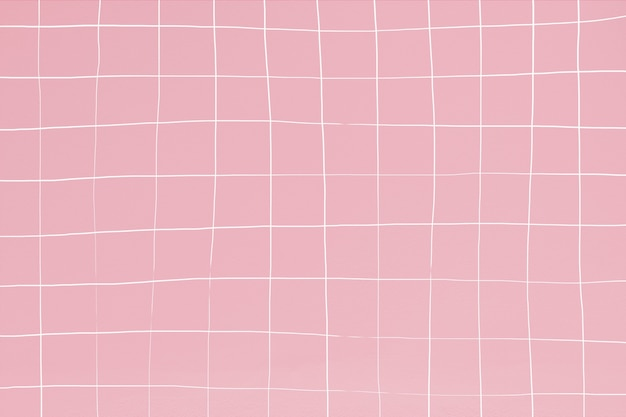 Roze tegel muur textuur achtergrond vervormd