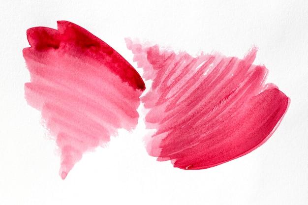 Roze verfvlekken abstract art