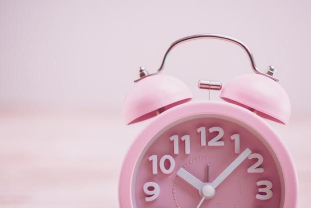 Roze wekker