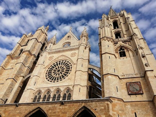 Rozetten van de kathedraal van leon, spanje