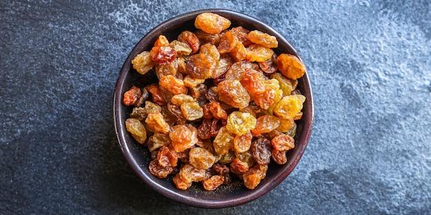 Rozijnen, heerlijke gedroogde druiven