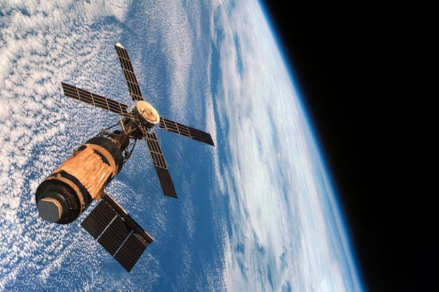 Ruimte orbitaal station