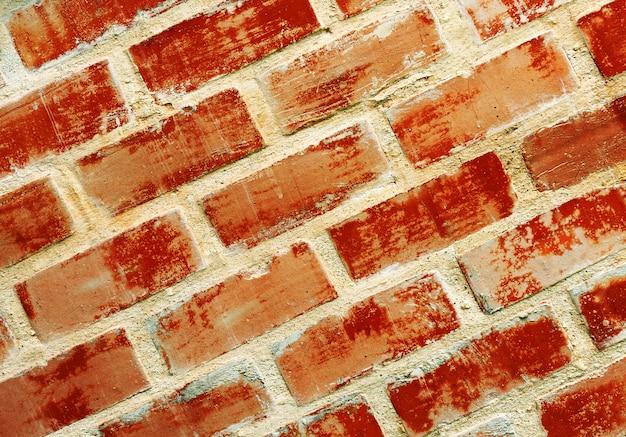Ruimte van bakstenen muurtextuur