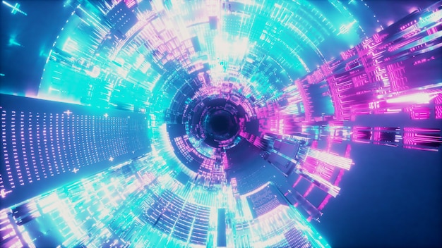 Ruimteschip tunnel