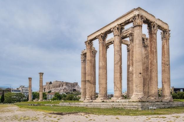 Ruïnes op de akropolis
