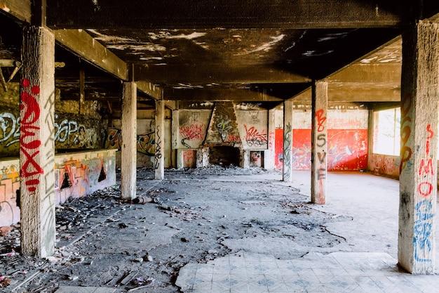 Ruïnes van de staat van verlatenheid