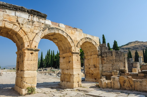 Ruïnes van hierapolis, nu pamukkale
