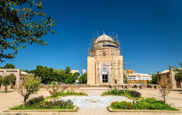 Rukhabad mausoleum in samarkand oezbekistan