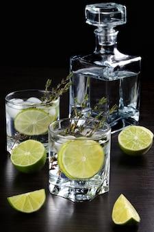 Rum en tonic